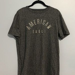American Eagle (AE) Active Flex Medium Gray Tee